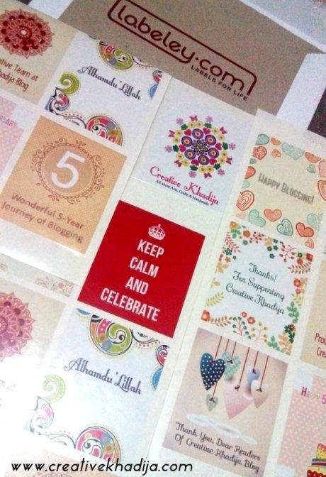 creativekhadija blog birthday blogversary