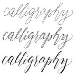 calligraphy tips