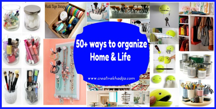how to organize life & stuff