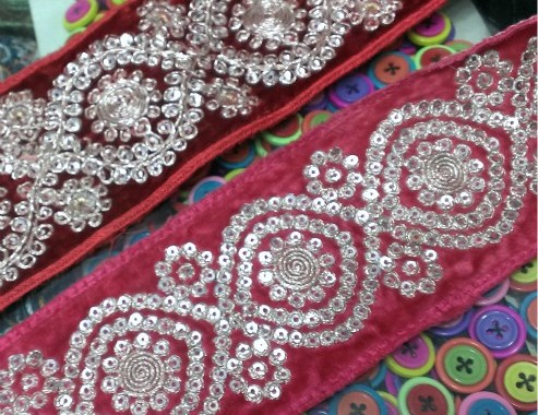 laces fashion-trends decorative embroidery patches