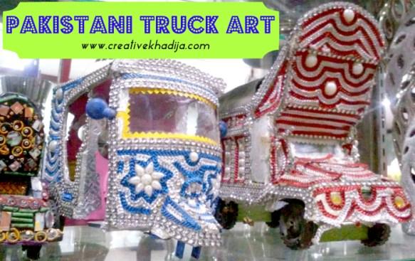 pakistani truck art and rikshaw design work