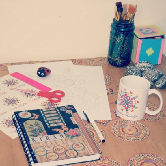 work table creative khadija