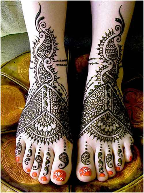 bridal mehndi design for eid