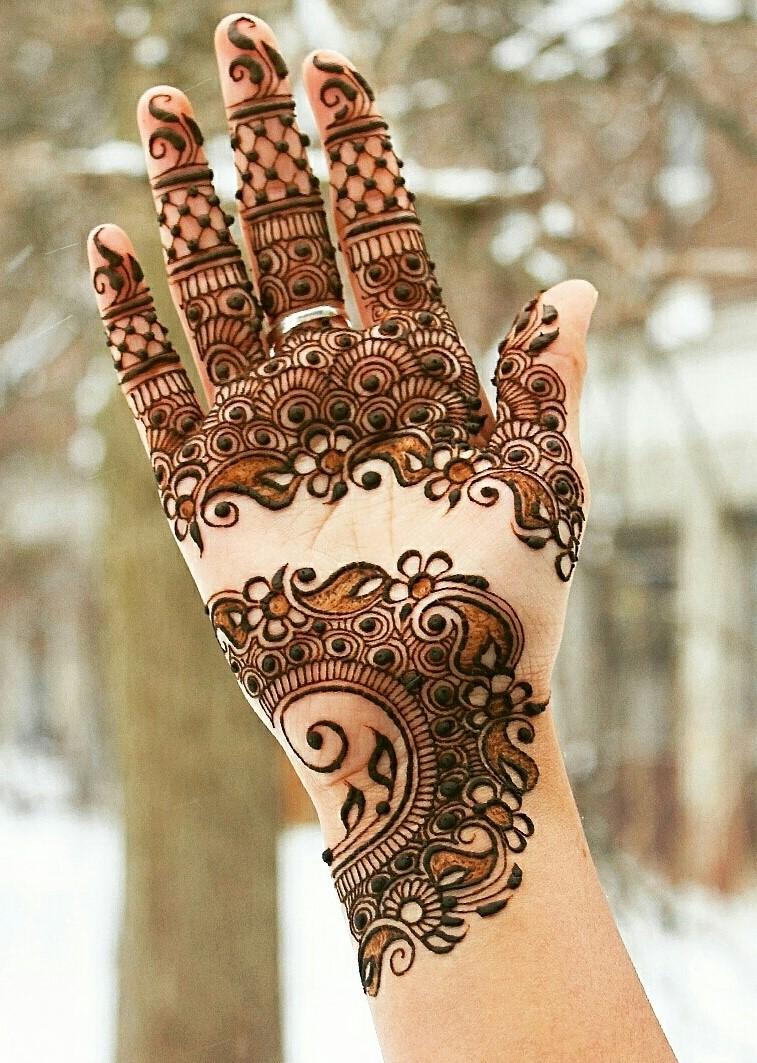 henna design for hands 2016