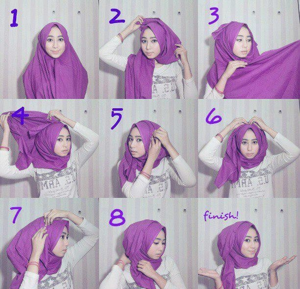 voluminous hijab style