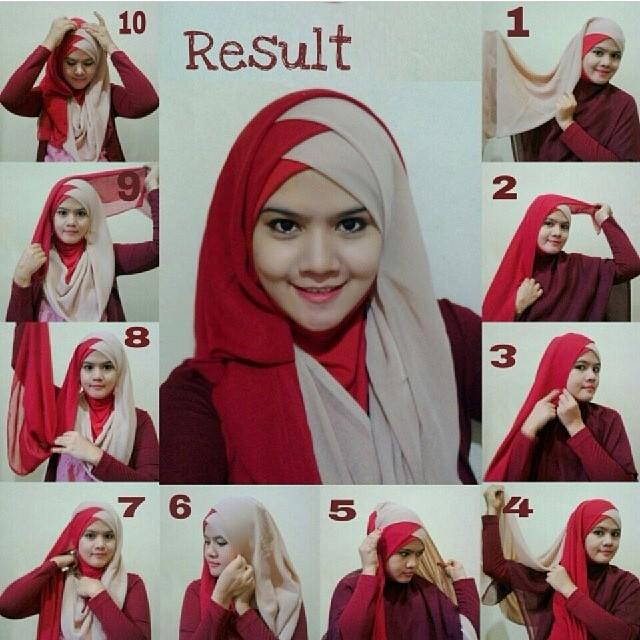 zic zac hijab tutorial