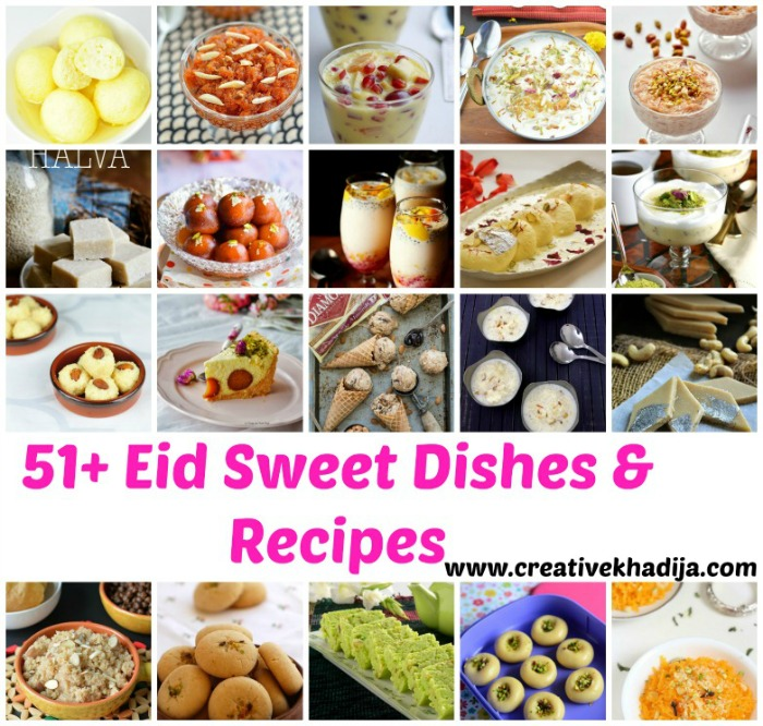 Eid sweet dishes and recipes
