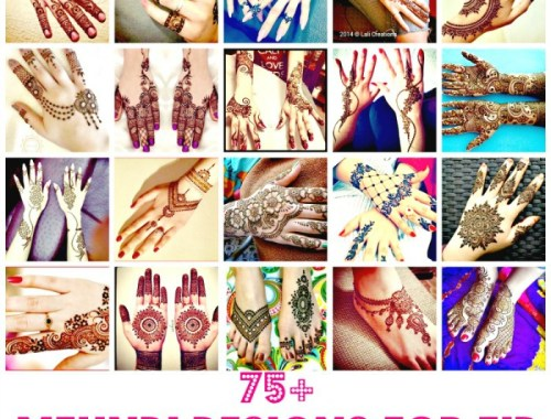 beautiful new unique mehndi designs for girls eid 2016