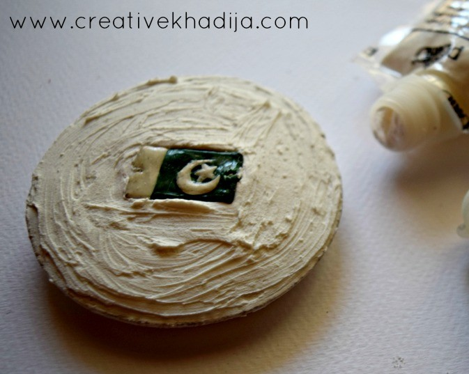 paper weight making pakistan independence day crafts ideas