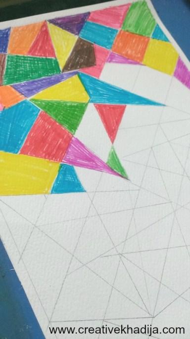 DIY Pop Art Abstract Wall Art-Part One