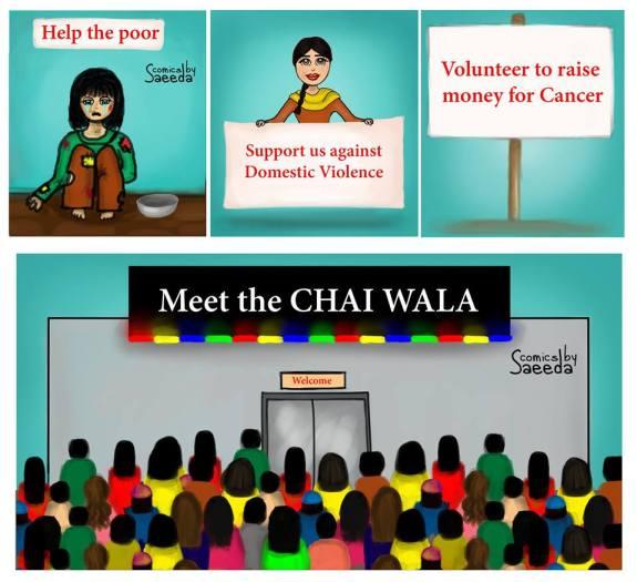 chai wala went viral islamabad social media fever
