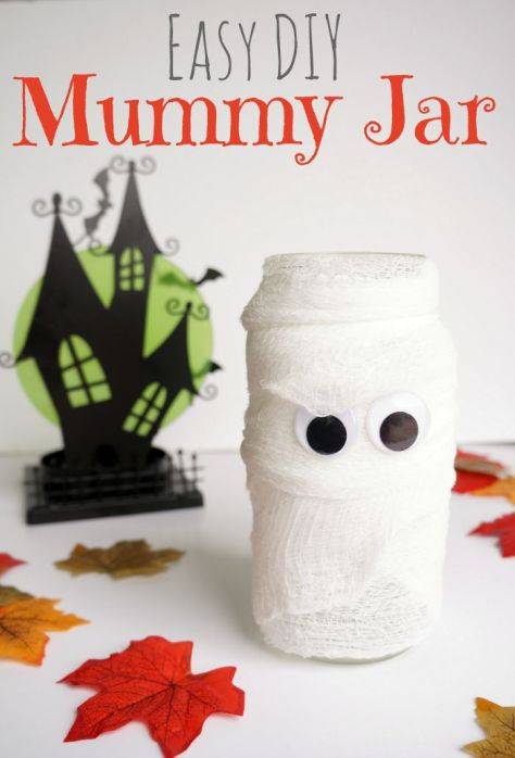 fall and halloween ideas and crafts jar for kids