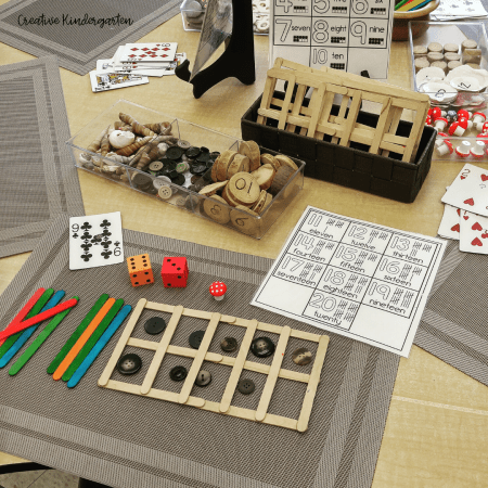 Teaching ten frames in kindergarten is easy with these hands-on and engaging materials and activities. Make it easy and fun in your kindergarten classroom!
