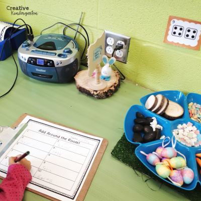 Get students moving around the classroom with this math write-the-room activity that will have students engaged and practicing their addition skills. A fun math center for your kindergarten classroom.