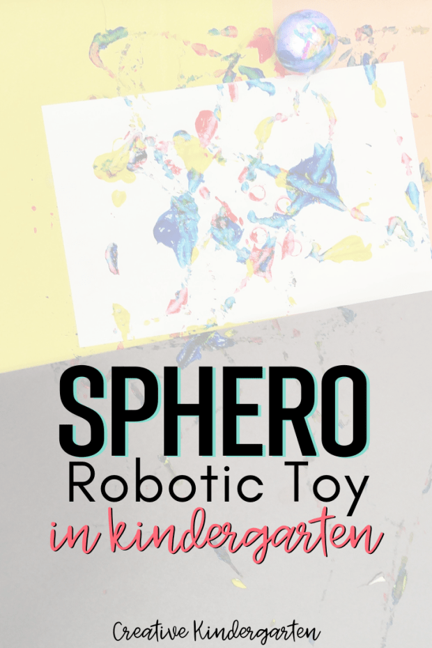 Use the Sphero Robot in your kindergarten classroom for great STEM activities for art and building centers. Problem solving and innovating activities.