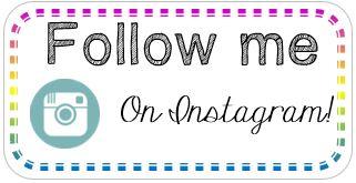 Follow me on Instagram button