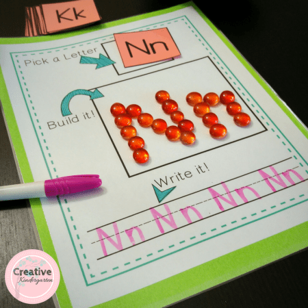 Pick it! Build it! Write it! is a hands-on and engaging literacy activities that will reinforce letter and sight word recognition and formation.