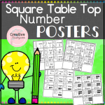 Number Posters Square Preview