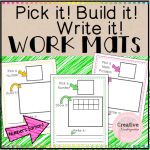 Pick it! Build it! Write it! Numbers EditionSquare Preview