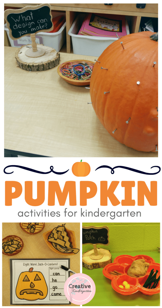 Pumpkin activities- Blog