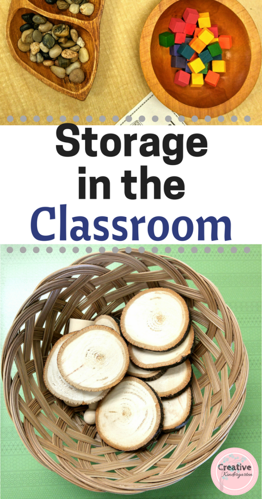 storage in the classroom