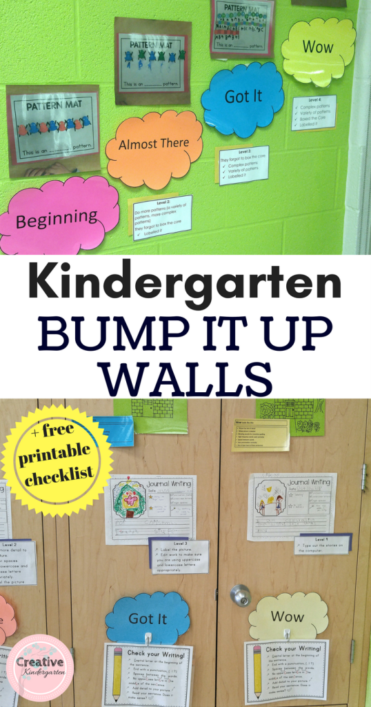 Copy of Patterning in Kindergarten