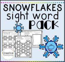 Sight Word Pack square
