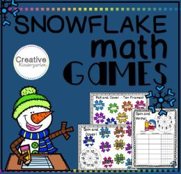 snowflake math pack square