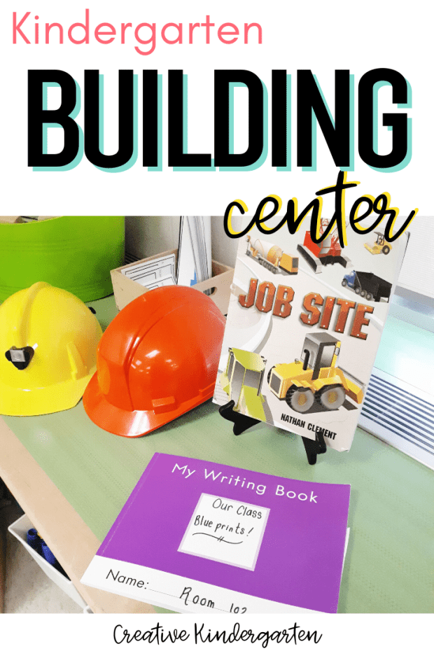 Kindergarten Building Center tour with an overview of what is included, the materials used and ideas for your own classroom.