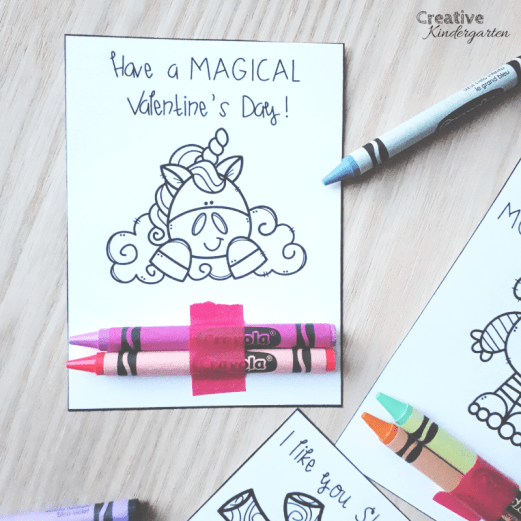 Make inexpensive, easy and fun Valentine's day cards for your students. A fun coloring activity that you can give your students as a Valentines present