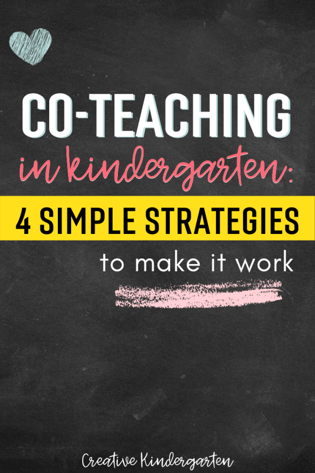 Teaching partnerships need to be cohesive in order to function and be successful in the classroom. Get my tips and advice to make co-teaching work.