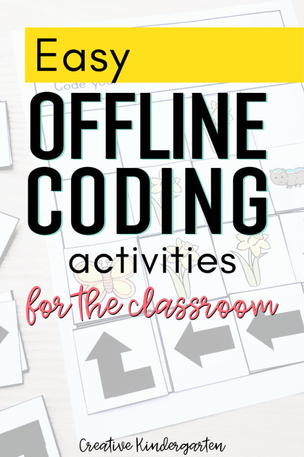 Practice coding skills without the need for technology with offline coding activities. Start your students on their journey as coders with no tech needed!