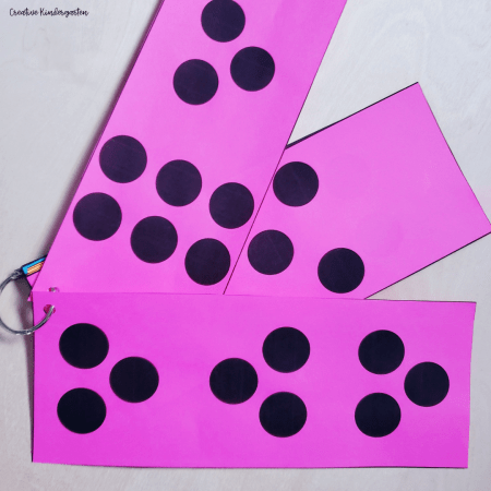 Number talk cards to start a number talk routine with your kindergarten students. These dot pattern cards will make starting them easy.