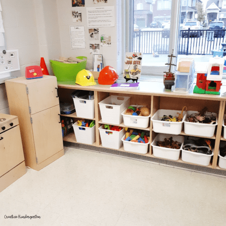 Having a building center can be an important part of your kindergarten classroom setup. Providing choices in the centers and spaces for students.