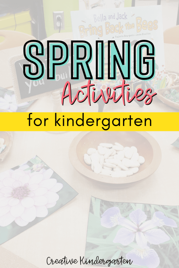 Find ideas and inspiration for your spring kindergarten centers and activities. Make your program planning easy to reinforce important skills and concepts.
