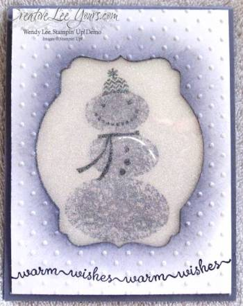 snowday stamp set