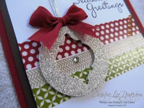 Stylish ornament closeup