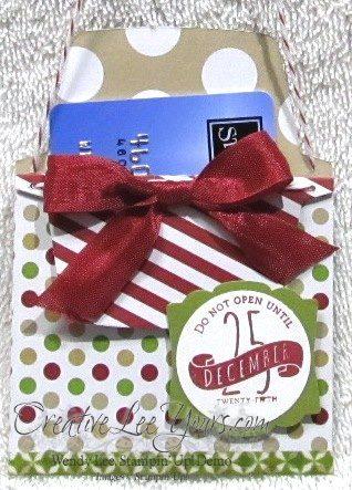 SU Envelope Liner Gift Card Holder