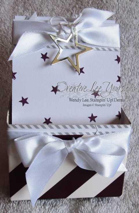 July 2014 Paper Pumpkin Kit-Wish Big gift box