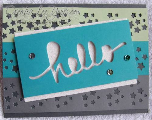 December 2014 All Shook Up Paper Pumpkin by Wendy Lee, #creativeleeyours, Stampin' Up!, card