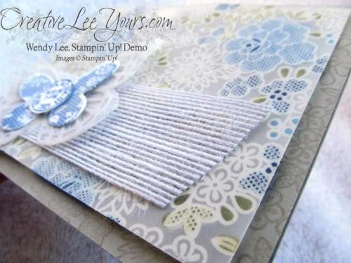 Blendabilites Lacy Vellum by Wendy Lee, #creativeleeyours, Stampin' Up!, Something Lacy Stamp Set, Butterfly Basics Stamp Set, Butterfly Thinlits, Card