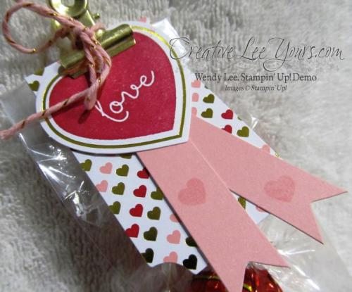 January 2015 Filled with love Paper Pumpkin kit by Wendy Lee, #creativeleeyours, Stampin' Up!, Valentine, Love
