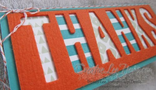 Paper Pumpkin Layers of Gratitude Thanks by Wendy Lee, #creativeleeyours, Stampin' Up!, March 2015 kit