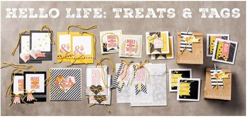 Hello Life Treats & Tags by Wendy Lee