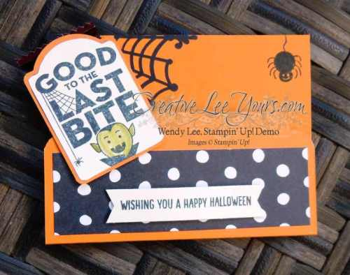 Sweet Treat Pouch by Belinda Rodgers, #creativeleeyours, Stampin' Up!, Merry Everything stamp set