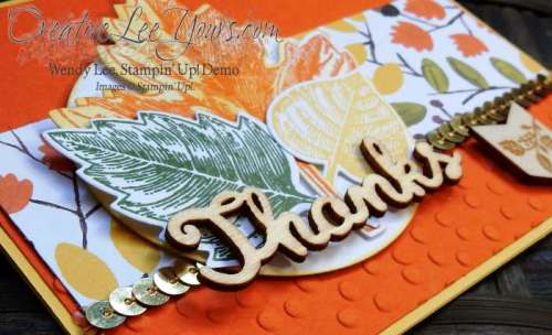Vintage Leaves Thanks by Betsy Batten, #creativeleeyours, Stampin' Up!, Fall Cards