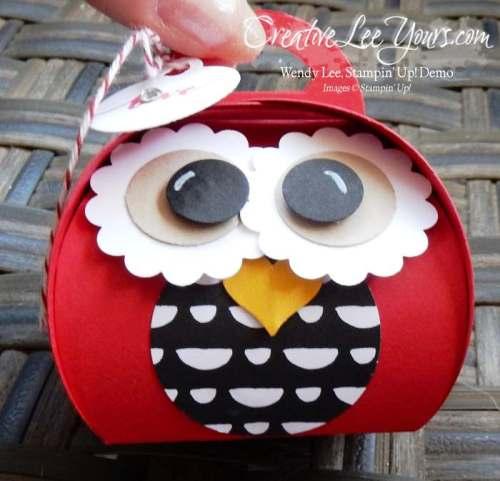 curvy keepsake love owl by wendy lee, #creativeleeyours, Stampin' Up!