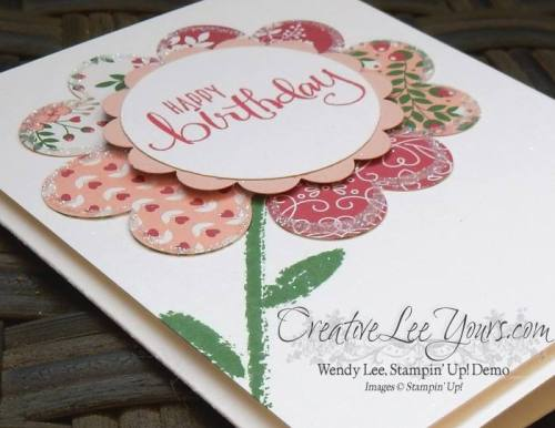 All About Everything Birthday by Wendy Lee, # creativeleeyours, Stampin' Up!, April 2016 paper pumpkin kit, #imbriningingbirthdaysback , Bringing Birthdays Back Class