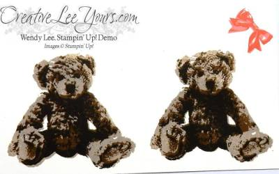 Love you Beary Much by Wendy lee, Stampin Up, serene scenery designer series paper stack, baby bear stamp set, #creativeleeyours, handmade cards