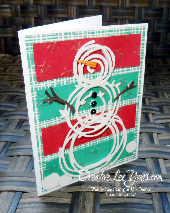 Jolly Swirly Snowman by Nancy Phillips, Stampin Up, hand made Card, christmas, swirly scribbles, this christmas stamp set, diemonds team swap